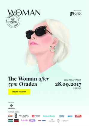 Monica Barladeanu vine la The Woman After 5pm! Oradea