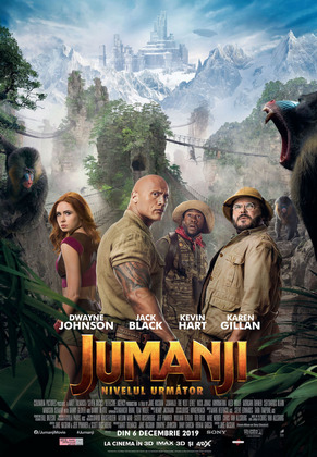 "Noul ""Jumanji: The Next Level"", pe primul nivel al box-office-ului romanesc"