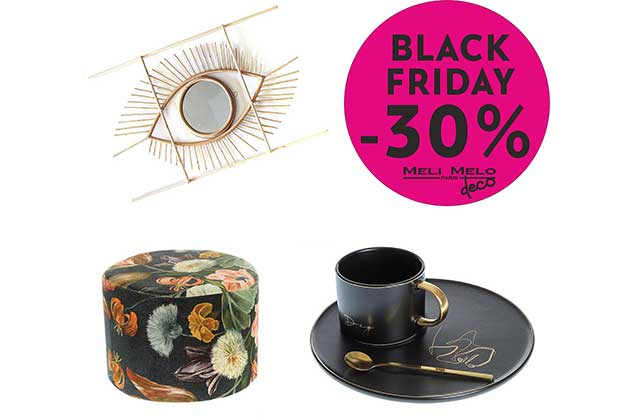 Black Friday Meli Melo Paris Home and Deco