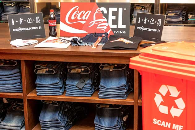 Diesel si Coca-Cola Colectia - THE RE-COLLECTION