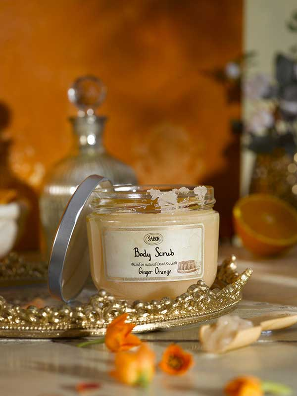 Ginger Orange - Body Scrub