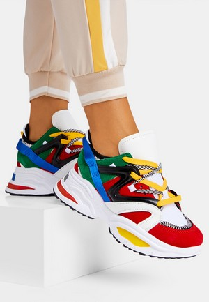 Sneakers dama Giants Multicolor