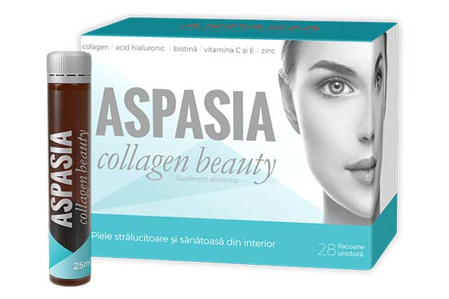 ASPASIA collagen beauty - doza ta zilnica de frumusete