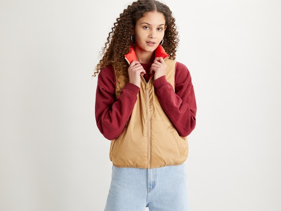 LEVI'S® PUFFER JACKET. Must-have item in sezonul de toamna/iarna 2020