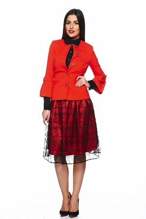 Compleu dama din doua piese LaDonna Friendly Look Red