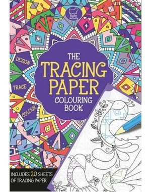 Carte de colorat copii THE TRACING PAPER COLOURING BOOK