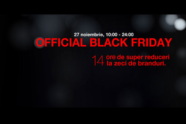 Mall Promenada - 14 ore de super reduceri de pana la 70% de Official Black Friday