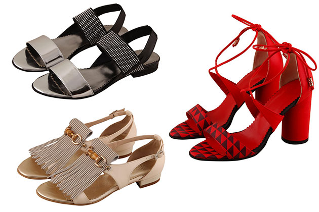 Mix and match, accesorii chic si block heels - Sandalele verii 2016 la Hotstepper