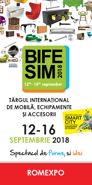 Targul international de mobila BIFE SIM - 12-16 Septembrie 2018