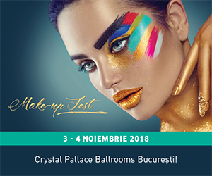 MAKE-UP FEST 2018 - 3 - 4 NOIEMBRIE CRYSTAL PALACE BALLROOMS BUCURESTI