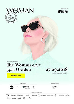 The Woman after 5pm Oradea - 27 Septembrie 2018