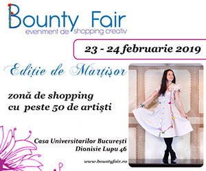 Bounty Fair no.41 - Editie de Martisor - 23 - 24 Februarie 2019