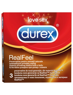 Durex Real Feel x 3