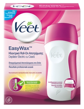 Veet Kit EasyWax Roll-on RKT