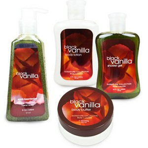Kit Body Luxuries Black Vanilla