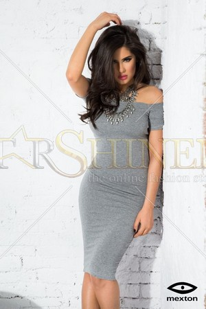 Rochie Mexton Little Beauty Grey