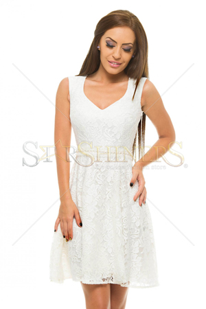 Rochie StarShinerS Beautify White