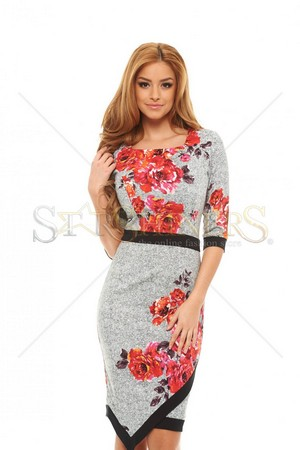 Rochie LaDonna Trusty Business Grey