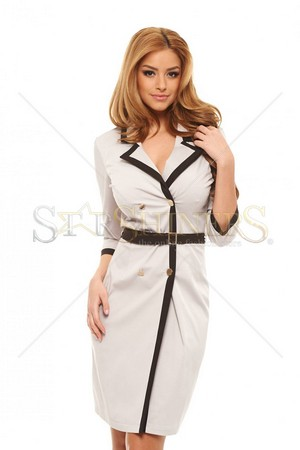 Rochie PrettyGirl Excusable Cream