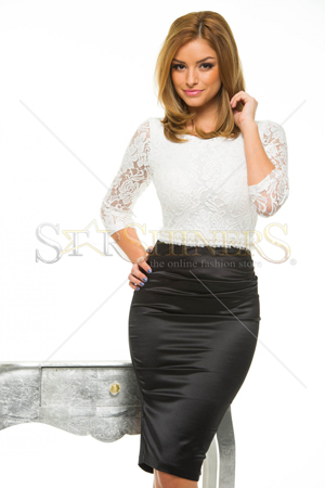Rochie StarShinerS Gallantly White